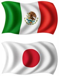 mexico and japan